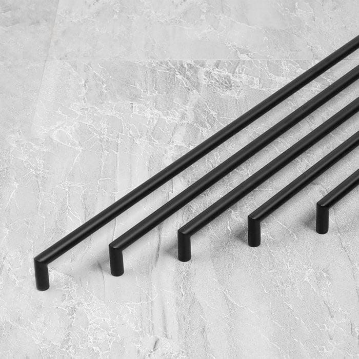 Details about Black Kitchen cabinet handles drawer pulls matt 304 Stainless steel cupboard & Black Kitchen cabinet handles drawer pulls matt 304 Stainless steel ...