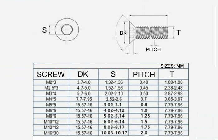 316 screws