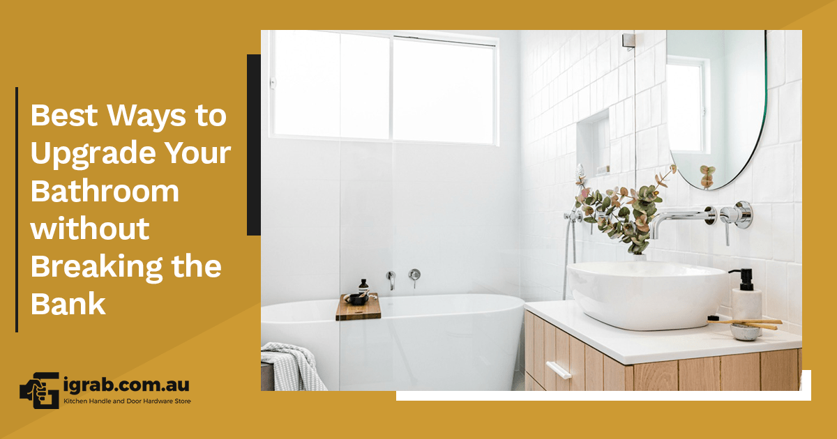 These days, we've been spending a lot of time at home. Don't you think it's perfect timing to be upgrading the bathroom? While it may seem like it's such a big feat to take on, you've got nothing to worry about. Start small and you'll see big changes slowly coming inside your special personal care space! We've got a few tips for you! Declutter and organize Let's be honest here. If you want to see change in your bathroom, you have to start with decluttering first. Throw away anything that's not needed inside. Organize your toiletries into a corner (perhaps allocate a shelf or a cart for this). For your usual personal care essentials, you can put them in small, uniform containers then keep the original containers with whatever's left out of sight, inside secret cabinets. Add greenery You can never go wrong with plants in the bathroom. They literally add an element of cool and freshness into any space. There are three things you need to consider when choosing a plant for the bathroom: low light, high humidity, and temperature swings. The best low maintenance options you can go for include Bamboo, Bromeliads, Chinese Evergreen, Fern and Philodendron. Install towel racks and hooks Messy towels and clothes scattered all over the bathroom are an eyesore, there's no denying that. Keep everything in order easily by installing a couple more racks and hooks. Don't settle for that one small rack space for everyone's use. Be generous and mount it creatively in your bathroom walls. The trick here is to not overcrowd them in just one area. Distribute the racks and hooks all over the space and leave some open to visually have it look less cluttered. Igrab has great bathroom hooks so if you're looking for easy, high-quality and affordable options, you can check out our site! Change the cabinet hardware Bathroom cabinets should be fully functional and beautifully designed. Repainting is a no-brainer strategy but if you think that's too drastic at the moment, why not pay attention to 